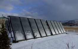 Solar Thermal System in Winter