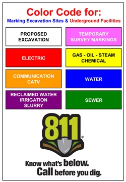 811 Color Codes